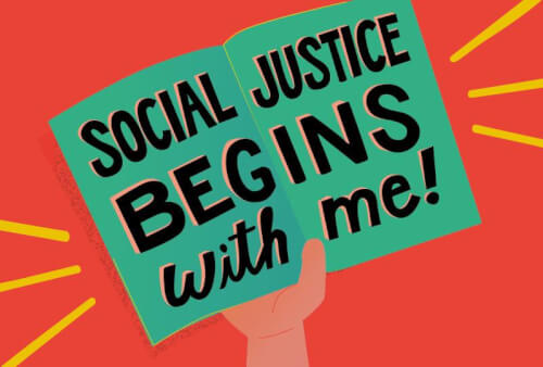 Read article Social justice begins with me